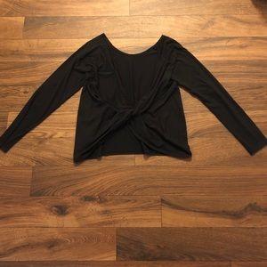 Fabletic Open Back Twist Long-sleeve